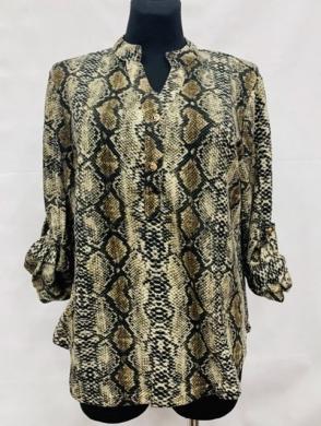 Koszula damska z długim rękawem (L-3XL) KM15651