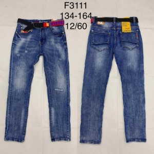 Spodnie jeansowe chłopięce (134-164) TP488