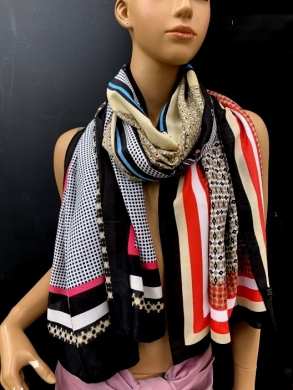 Szaliki damskie  Silk  50% , Viscose 50% (Standard) NL797