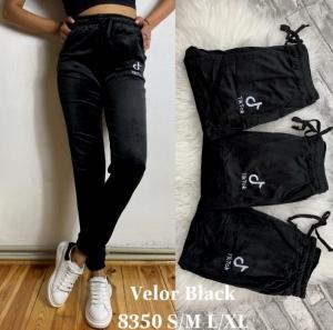 Legginsy damskie welurowe (M-XL) NL5160