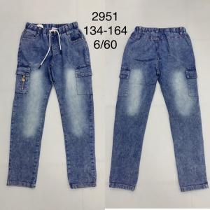 Spodnie bojówki chłopięce (134-164) TP454