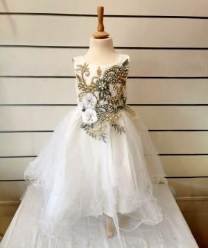 Sukienka wizytowa dziewczynki (2-14lat) NL4727