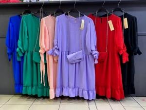 Sukienka damska 3-4 rękaw - Włoska (Standard) NL2086