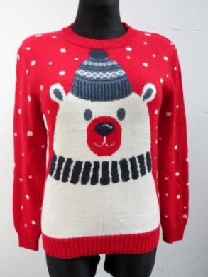 Sweter świąteczne damski (S/M-L/XL) KM11919