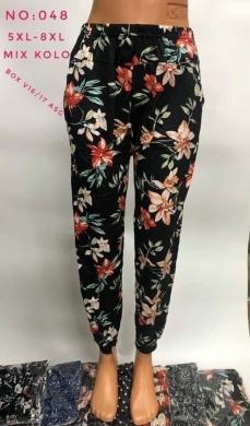 Spodnie alladynki damskie (5XL-8XL) NL2880