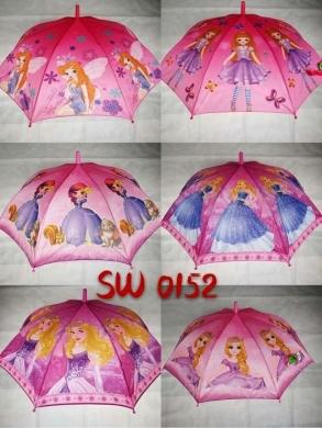 Parasol laska półautomat dla dzieci KM12893