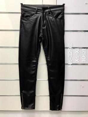 Spodnie Eko-skóra damskie (XS-XL) NL3295