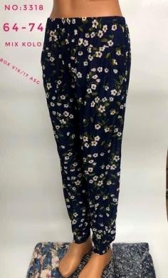 Spodnie alladynki damskie (XL-6XL) NL2878
