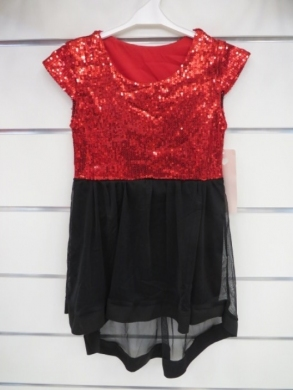 Sukienka świąteczna dziewczęca (4-14) KM12780