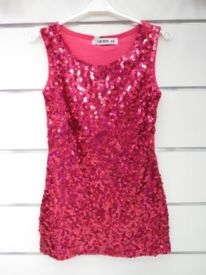 Sukienka świąteczna dziewczęca (4-14) KM12794