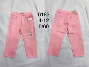 Spodnie materiałowe dziewczęce (8-16) TP525