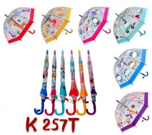 Parasol laska półautomat dla dzieci KM12890