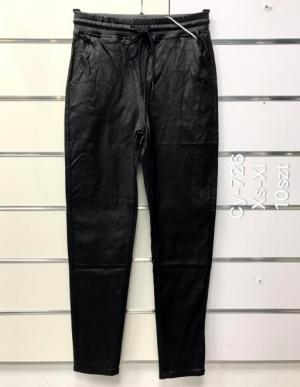 Spodnie Eko-skóra damskie (XS-XL) NL3299