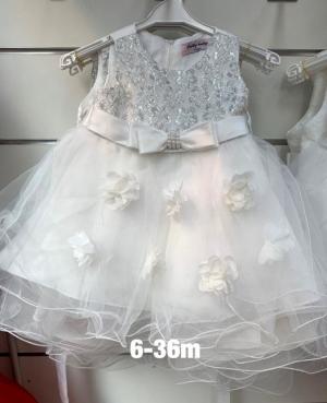 Sukienka wizytowa dziewczynki (6-36m) NL4730