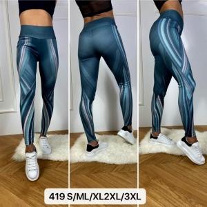 Legginsy sportowe damskie (M-3XL) NL2989