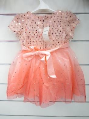 Sukienka świąteczna dziewczęca (4-14) KM12771