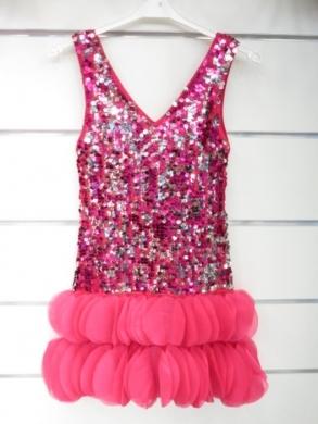 Sukienka świąteczna dziewczęca (4-14) KM12789