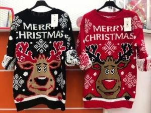 Swetry damskie świąteczne - Ytalia (standard) KM14235
