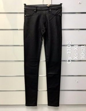 Spodnie Eko-skóra damskie (XS-XL) NL3291