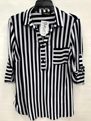 Koszula damska 3/4 rękaw - Polska (44-50) NL4775