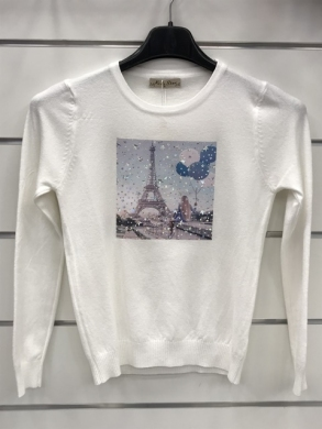 Swetry dziewcięce (4-14) KM12731