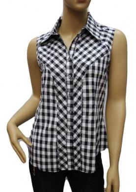 Koszula Damska Bawełniana Kr. Rękaw H-W07-000039