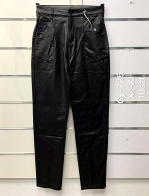Spodnie Eko-skóra damskie (XS-XL) NL3298