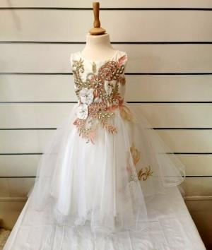 Sukienka wizytowa dziewczynki (2-14lat) NL4725