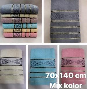 Ręcznik kąpielowy 100% bawełniane ( 70 x 140 )- Turecka 547