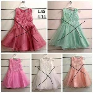 Sukienka wizytowa dla dziewczynki (4-14) TP756