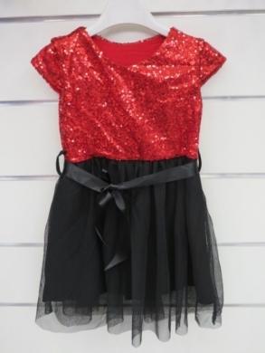 Sukienka świąteczna dziewczęca (4-14) KM12782