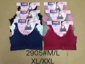 Topy damskie (M-2XL) Różowy KM13689