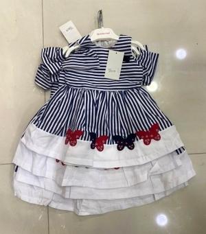Sukienka dziewczęca krótki rękaw-Turecka (1-4lat) NL2424