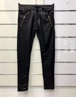 Spodnie Eko-skóra damskie (XS-XL) NL3296
