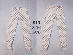 Spodnie materiałowe dziewczęce (8-16) TP534