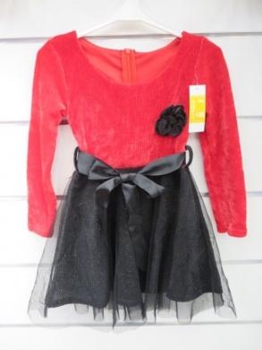 Sukienka świąteczna dziewczęca (4-14) KM12764
