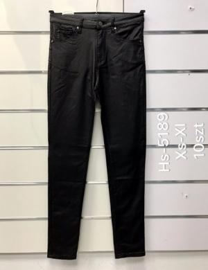 Spodnie Eko-skóra damskie (XS-XL) NL3289