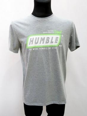 T-shirt męski z krótkim rękawem (M-3XL) KM16674